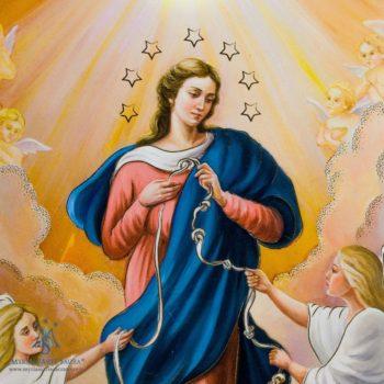 Madonna che scioglie i nodi Caserta
